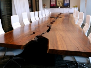 One Giant and Stunning Conference Table!