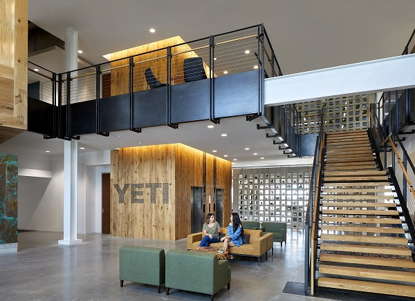 Yeti Headquarters Wood Wall